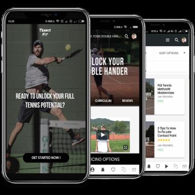 TennisFit App NO Text